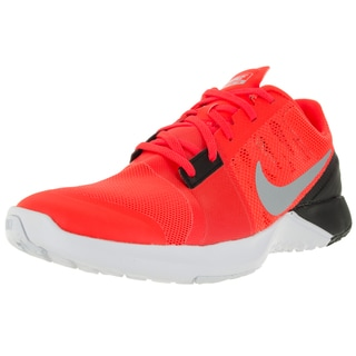Nike Men's Fs Lite Trainer 3 Total Orange/Metallic Platinum/Black/Bright Mesh Training Shoe