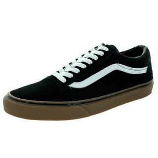 Vans Unisex Old Skool Gumsole Black/Medium Gum Suede Skate Shoe