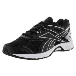 Reebok Men's Quickchase Black/White Synthetic Running Shoe