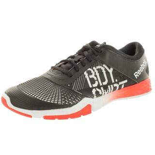 Reebok Men's Les Mills BodyCombat White/Black/Red Mesh Training Shoes