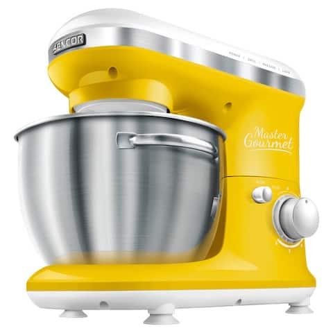 Sencor Stand Mixer, Solid Yellow