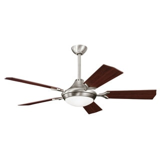 Kichler Lighting Bellamy Collection 54-inch Antique Pewter Ceiling Fan w/Light