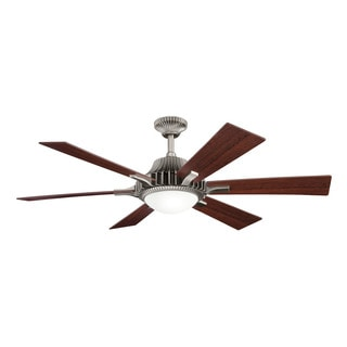 Kichler Lighting Valkyrie Collection 52-inch Antique Pewter Ceiling Fan w/Light