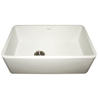 Duet Reversible Fireclay Smooth Front Apron Sink