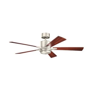 Kichler Lighting Lucian Collection 52-inch Brushed Nickel Ceiling Fan w/Light