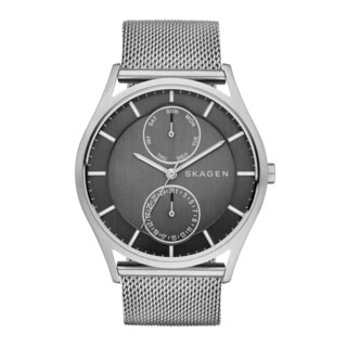 Skagen Holst Grey Dial Stainless Steel Men's Analog Watch