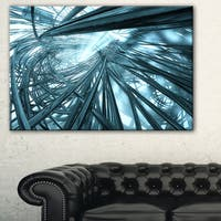 Fractal 3D Stripes Everywhere - Abstract  Art Canvas Print