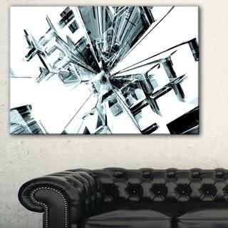 Fractal 3D Cubes Everywhere - Abstract  Art Canvas Print