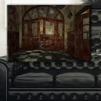Abandoned Interior - Landscape Painting Canvas Artwork Print