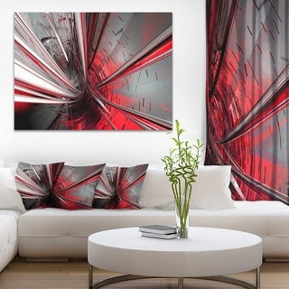 Link to Fractal 3D Deep into Middle - Abstract  Art Canvas Print Similar Items in Canvas Art