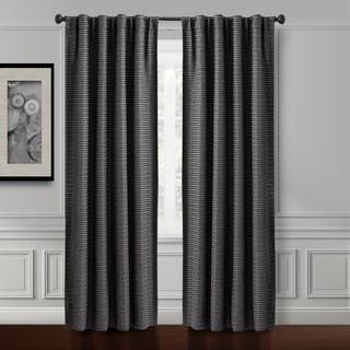 Croscill Murray Hill Back Tab Curtain Panel Grey