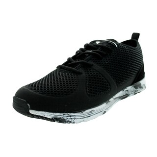 Ransom Men's Path Lite Black/Black/White Marble Casual Shoe