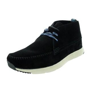 Ransom Men's Alta Mid Black/Light Bone Casual Shoe