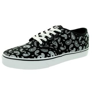 Vans Men's Atwood Paisley Black/White Skate Shoe