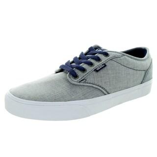 Vans Men's Atwood Textile Patriot Blue/White Skate Shoe