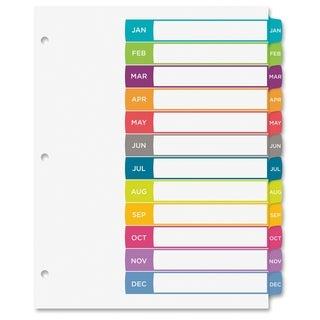 Avery Ready Index Jan-Dec Tab Dividers - Multi (12/Set)
