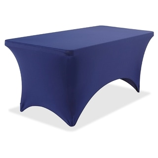 Iceberg Stretch-fabric Blue Polyester/ Spandex 30 x 72-inch Table Cover
