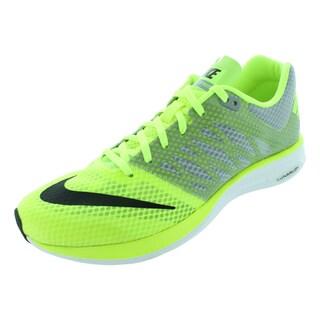 Nike Men's Lunarspeed+ Volt/White/Wolf Grey/White Running Shoe