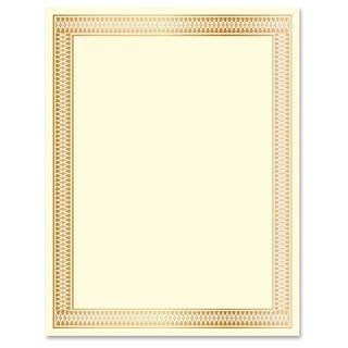 Geographics Traditional Award Certificates - Gold (100/Pack)