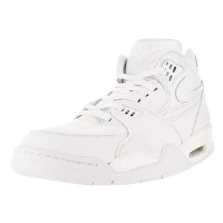 Nike Men's Air Flight 89 Le Qs White/White/White Basketball Shoe