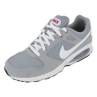 Nike Air Max Coliseum Rcr Ltr Running Shoes Strata Grey/White/Stdm /Black