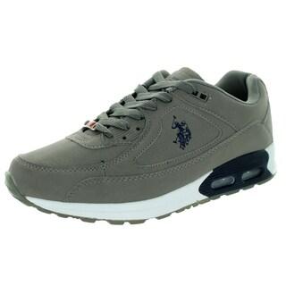 U.S. Polo Assn. Men's Ralston Grey Nb/Navy Casual Shoe