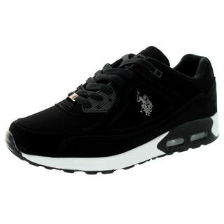 U.S. Polo Assn. Men's Ralston Black Nb/Grey Casual Shoe|https://ak1.ostkcdn.com/images/products/12118151/P18978208.jpg?impolicy=medium