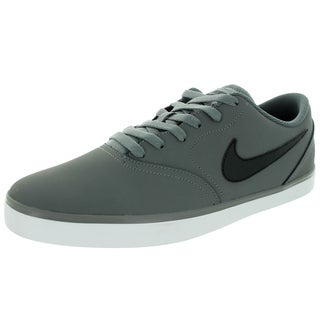 Nike Men's Sb Check Nb Cool Grey/Black/Drk Grey/White Skate Shoe