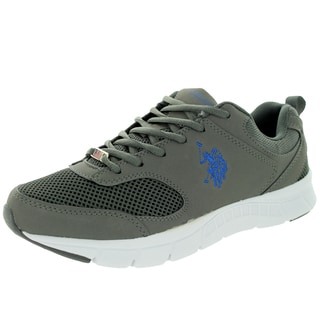 U.S. Polo Assn. Men's Clutch 2 Charcoal/Royal Casual Shoe