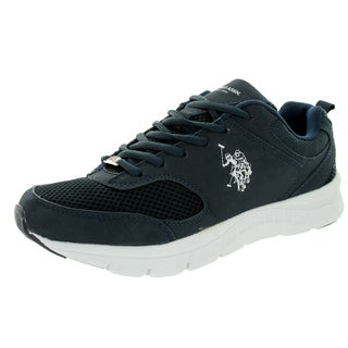 U.S. Polo Assn. Men's Clutch 2 Navy/White Casual Shoe
