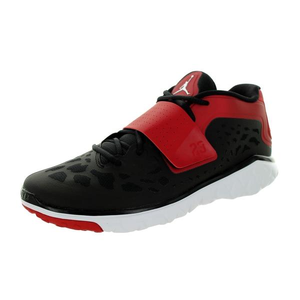 best loved 3f5ae c87d6 Nike Jordan Men's Jordan Flight Flex Trainer 2 Black/White/Gym Red Training  Shoe