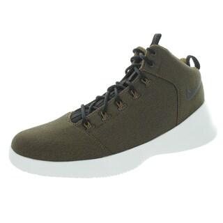 Nike Men's Hyperfr3Sh Dk Khaki/Summit White Basketball Shoe
