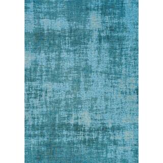 Curio Blue Tree Bark Rug - 5'1 x 7'7