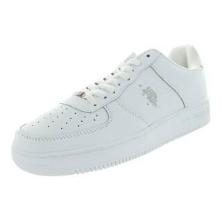 U.S Polo Assn. Men's Branson White/Grey Casual Shoe|https://ak1.ostkcdn.com/images/products/12118224/P18978255.jpg?impolicy=medium