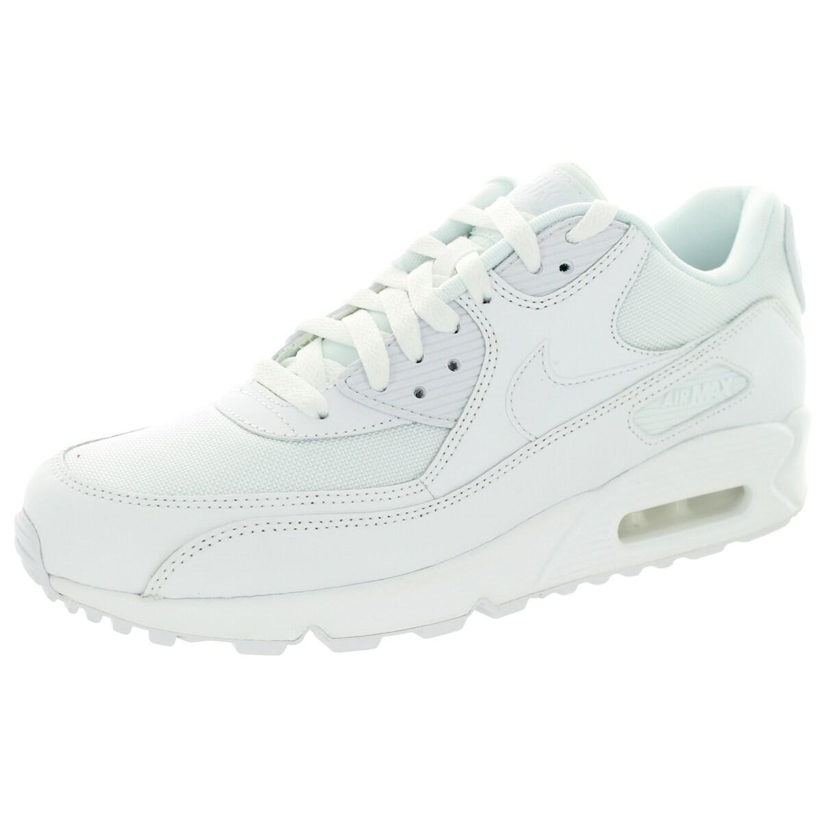 Nike Men's Air Max 90 Essential White/White/White/White R...