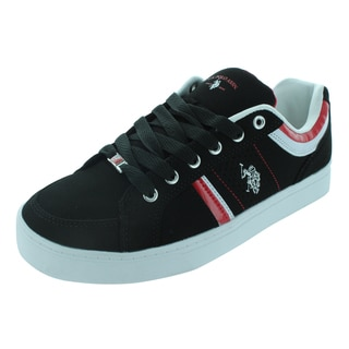 U.S. Polo Assn. Diamond Back Casual Shoes Black/Red/White