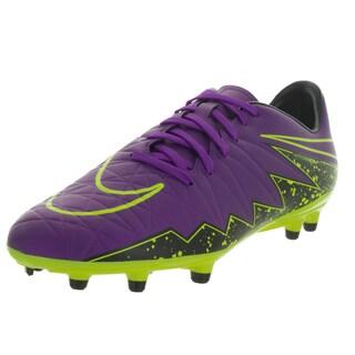 Nike Men's Hypervenom Phelon Ii Fg Hyper Grape/ Grape/Black/Vlt Soccer Cleat