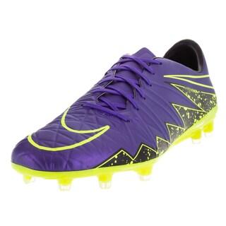 Nike Men's Hypervenom Phatal Ii Fg Hyper Grape/Volt/Black/Black Soccer Cleat