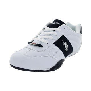 U.S. Polo Assn. Men's Sparrow White/Navy Casual Shoe