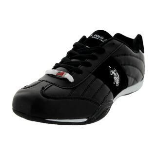 U.S. Polo Assn. Men's Sparrow Black/White Casual Shoe|https://ak1.ostkcdn.com/images/products/12118300/P18978318.jpg?impolicy=medium