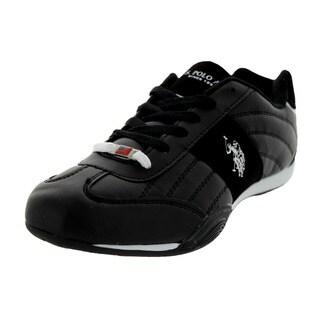 U.S. Polo Assn. Men's Sparrow Black/White Casual Shoe
