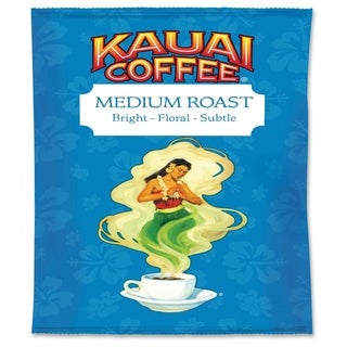 Office Snax Kauai Medium Roast Coffee - Blue Yellow (24/Carton)