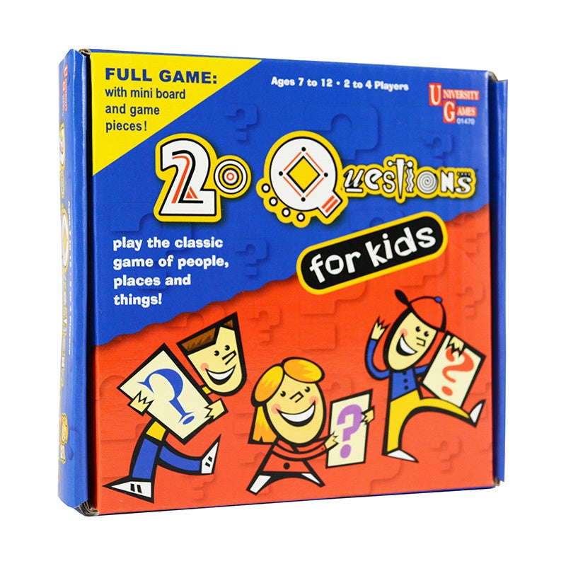 University Games 20 Questions for Kids Pocket Travel Game...