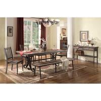 LYKE Home Analiese Metal Dining Chair (Set of 2)
