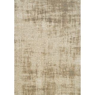 Curio Cream/ Beige Tree Bark Rug (5'1 x 7'7)