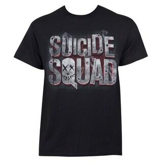 Men's Suicide Squad Black Cotton T-Shirt