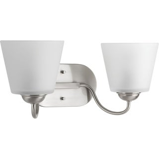 Progress Lighting P2128-09 Arden Grey Metal Two-light Bath Light