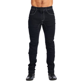 OTB Men's Denim Dark Wash Cotton/Polyester/Viscose/Spandex Joggers