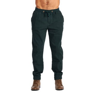OTB Men's Olive Cotton/Spandex Joggers