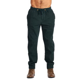 OTB Men's Olive Cotton/Spandex Joggers|https://ak1.ostkcdn.com/images/products/12118649/P18978594.jpg?impolicy=medium